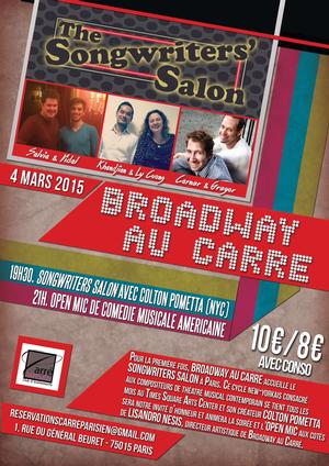 Songwriters' Salon to Take Place in Paris, Mar. 4