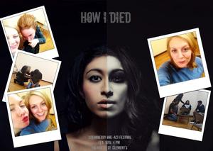HOW I DIED Premieres at The Strawberry One Act Festival Tomorrow