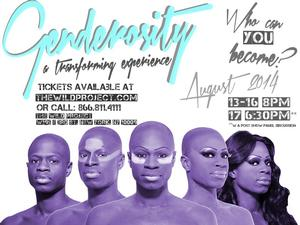 Donald C. Shorter Jr.'s GENDEROSITY to Play The Wild Project, 8/13-17