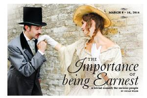 Prime Stage Theatre Continues 2013-14 Season with THE IMPORTANCE OF BEING EARNEST, 3/8-16