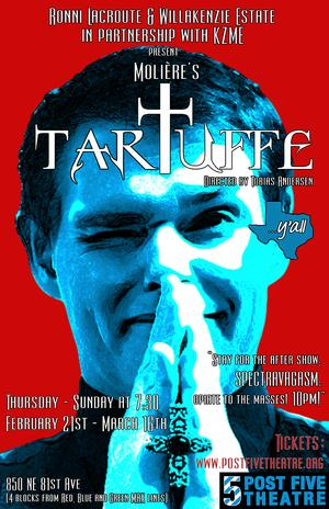 Post5 Theatre to Stage TARTUFFE, 2/21-3/16