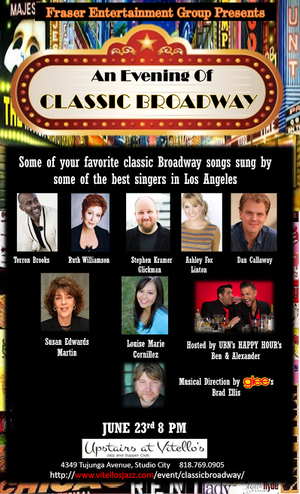 GLEE's Brad Ellis to Headline AN EVENING OF CLASSIC BROADWAY in Studio City, 6/23