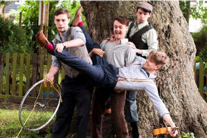 The Handlebards Tour the UK with MACBETH and THE COMEDY OF ERRORS on Bikes, Beg. Today