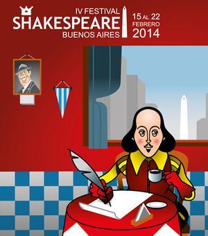 Comienza el IV Festival Shakespeare Buenos Aires, 15 al 22 de febrero