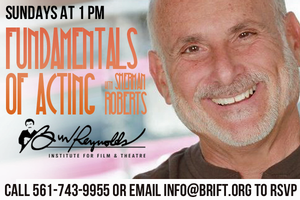 Classes in Improv, Acting, Creative Writing and More Set for The Burt Reynolds Institute, Summer 2014