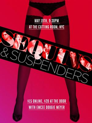 Luke Hawkins, Chondra Profit, Brian Craft and More Set for The Cutting Room's SEQUINS & SUSPENDERS, 5/19
