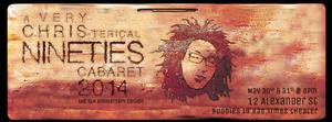 Chris Tsujiuchi to Present A VERY CHRIS-TERICAL 90'S CABARET 2014 at Buddies in Bad Times, May 30-31