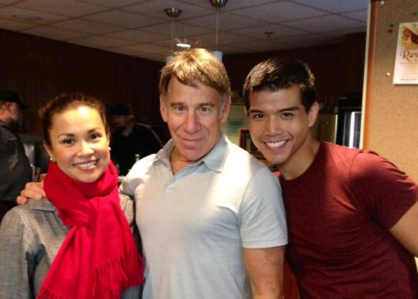 Twitter Watch: Telly Leung-'Thrilled That Stephen Schwartz Came to ALLEGIANCE'