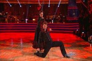 VIDEO: Valerie Harper Dances Lively Paso Doble on DWTS
