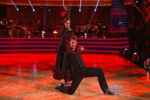 VIDEO: Valerie Harper Dances Lively Paso Doble on DWTS