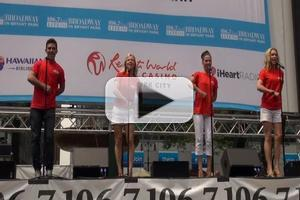 BWW TV: JERSEY BOYS Performs at Broadway in Bryant Park 2012!