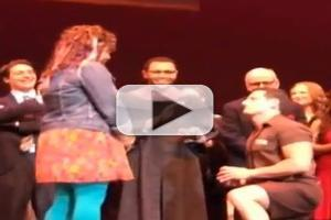 STAGE TUBE: LEGALLY BLONDE Castmates Get Engaged on Stage!