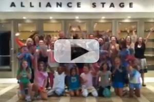 STAGE TUBE: Alliance Theatre Wishes Luck to BRING IT ON Cast!