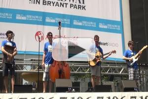 BWW TV: 'The Craze' of ONE MAN, TWO GUVNORS Performs at Broadway in Bryant Park!