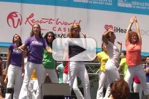 BWW TV: First Look at New Leads of MAMMA MIA!-Judy McLane & More Perform in Bryant Park!