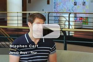 STAGE TUBE: Backstage with JERSEY BOYS' Stephen Cerf at the Buell Theatre