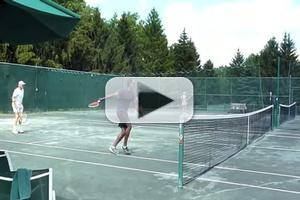 STAGE TUBE: Norm Lewis on the Court and More at The Actors Fund's CelebriTEE Golf & Tennis Outing 2012