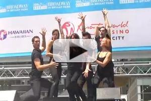 BWW TV: CHICAGO Cast Performs at Broadway in Bryant Park!