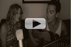 STAGE TUBE: GHOST's Caissie Levy and Richard Fleeshman Sing Acoustic 'Here Right Now'