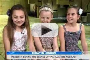 STAGE TUBE: Behind the Scenes of West End's MATILDA!