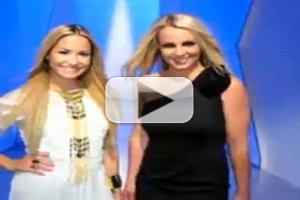 STAGE TUBE: Spears, Lovato Chat New Season of THE X FACTOR