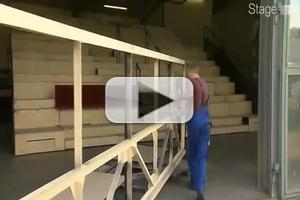 STAGE TUBE: Behind the Scenes with Set Designer, Chris Barreca in ROCKY