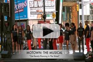 BWW TV: MOTOWN Cast Performs 'Get Ready'/'Dancing In The Street' at BROADWAY ON BROADWAY