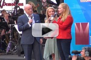 BWW TV: Meet ANNIE's Anthony Warlow & Katie Finneran at Broadway on Broadway!