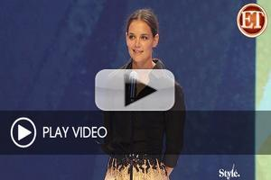 Fashion TV: Sneak Peak at Katie Holmes Presenting Carolina Herrera with the Designer of the Year Award