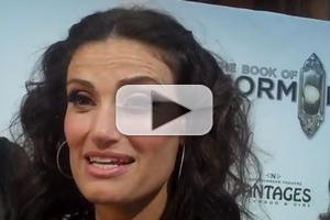 STAGE TUBE: Idina Menzel Talks THE BOOK OF MORMON at LA Premiere!