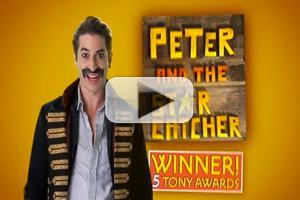 STAGE TUBE: Watch Matthew Saldivar in PETER AND THE STARCATCHER's New TV Commercial!