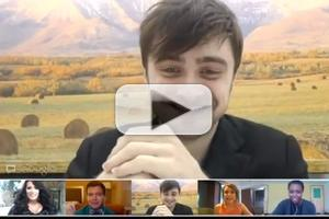 STAGE TUBE: Daniel Radcliffe Chats Live with The Trevor Project!