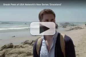 VIDEO: First Look at USA's GRACELAND Starring Aaron Tveit and Daniel Sunjata
