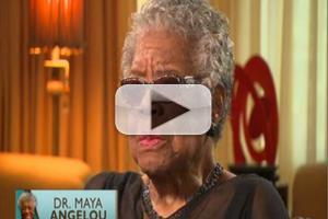 VIDEO: Dr. Maya Angelou Talks Education & More on MSNBC
