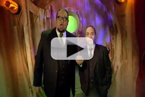 STAGE TUBE: Penn & Teller Go Behind the Scenes at 'New(kd) Las Vegas' Haunted House for Halloween Horror Nights 22