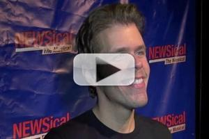 BWW TV: Perez Hilton Makes Off-Broadway Debut in NEWSICAL- Chatting with Perez, Carson Kressley, Leslie Kritzer and More!