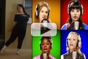 STAGE TUBE: Mike Tompkins, PITCH PERFECT Cast and YouTubers Perform Cover of Nicki Minaj's 'Starships'