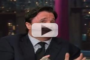 VIDEO: Nathan Lane Guests on DAVID LETTERMAN