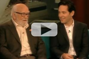 VIDEO: GRACE's Ed Asner & Paul Rudd Visit 'The View'