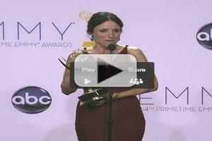 VIDEO: Julia Louis-Dreyfus Chats Emmy Win for Best Lead Actress in a Comedy