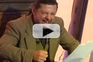 VIDEO: THE HOBBIT's Andy Serkis Reads an Excerpt as 'Gollum'