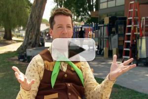 Video: Sean Hayes Talks HOME/OFFICE