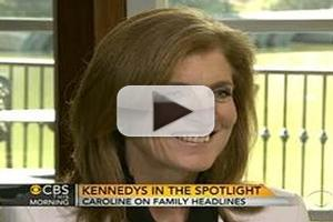 VIDEO: Caroline Kennedy Visits CBS THIS MORNING