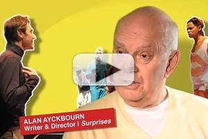 STAGE TUBE: Alan Ayckbourn Talks SURPRISES!