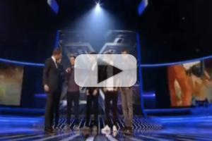 VIDEO: One Direction Stops by U.K. X FACTOR