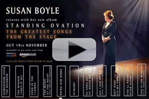 Audio Preview: First Listen to Samples from Susan Boyle's Upcoming Musicals Album Plus Crawford & Osmond