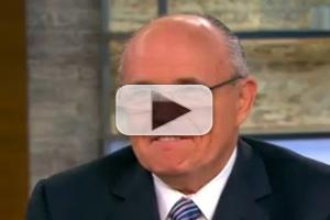 VIDEO: Former NY Mayor Giuliani Visits CBS THIS MORNING