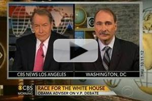 VIDEO: Obama Campaign Adviser David Axelrod Visits CBS THIS MORNING