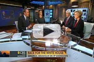 VIDEO: Jennifer Granholm & Newt Gingrich Visit CBS THIS MORNING