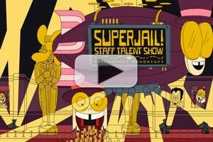VIDEO: Sneak Peek - This Sunday's Episode of Adult Swim's SUPERJAIL